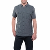 Kuhl Mens Airspeed Short Sleeve Carbon
