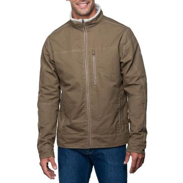 Kuhl Mens Burr Jacket Lined Khaki (Close Out)