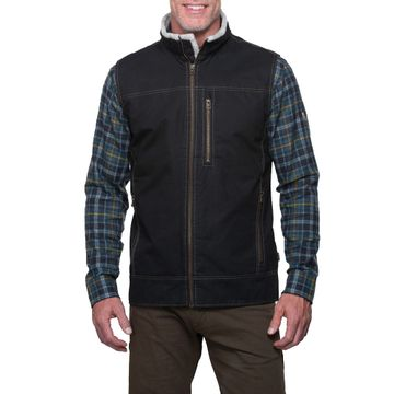 Kuhl Mens Burr Vest Lined Espresso (Close Out)