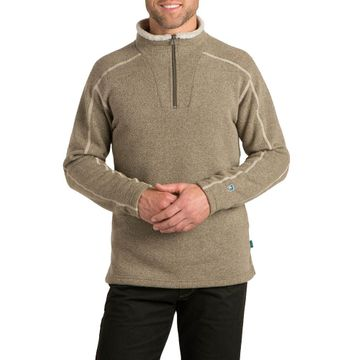 Kuhl Mens Europa 1/4 Zip Sweater Oatmeal (Close Out)