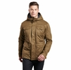 Kuhl Mens Fleece Lined Kollusion Jacket Dark Khaki