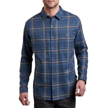 Kuhl Mens Fugitive Long Sleeve Shirt Abyss