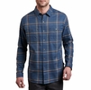 Kuhl Mens Fugitive Long Sleeve Shirt Abyss (Close Out)