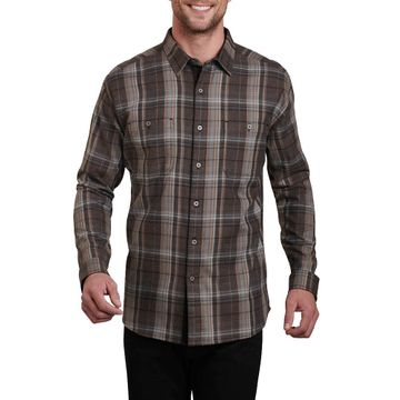Kuhl Mens Fugitive Long Sleeve Shirt Asphalt (Close Out)
