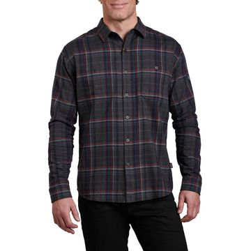 Kuhl Mens Fugitive Long Sleeve Shirt Cinder (Close Out)