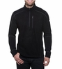 Kuhl Mens Interceptr 1/4 Zip Black (close out)