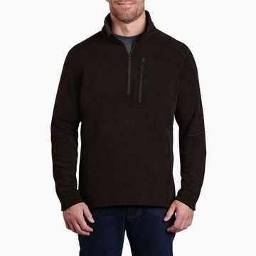 Kuhl Mens Interceptr 1/4 Zip Charcoal