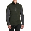 Kuhl Mens Interceptr 1/4 Zip Loden/ Steel (Close Out)