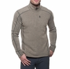Kuhl Mens Interceptr 1/4 Zip Oatmeal