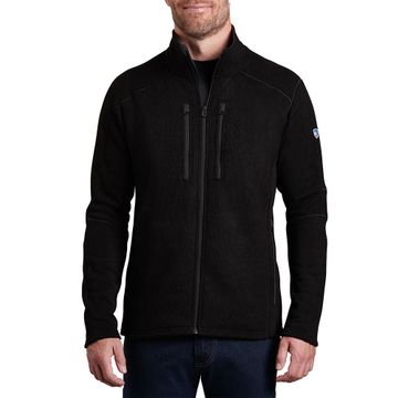 Kuhl Mens Interceptr Fleece Full Zip Black