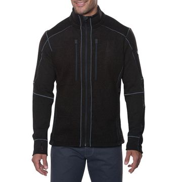 Kuhl Mens Interceptr Fleece Jacket Charcoal