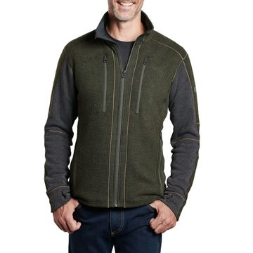 Kuhl Mens Interceptr Fleece Jacket Loden/ Steel (Close Out)