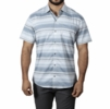 Kuhl Mens Intriguer Short Sleeve Blue Chalk (Close Out)