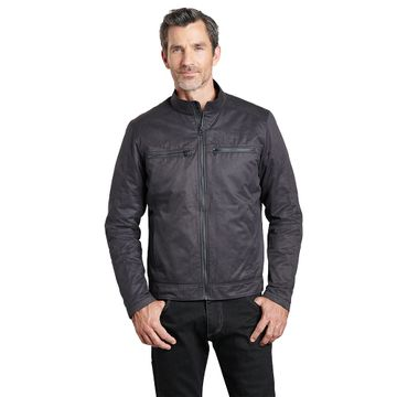 Kuhl Mens Kaffe Racer Jacket Ink Black