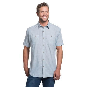 Kuhl Mens Karib Short Sleeve Horizon Blue