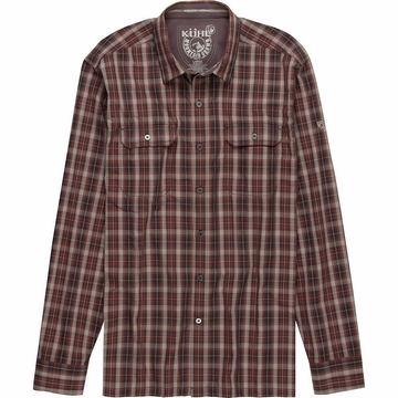 Kuhl Mens Response Long Sleeve Dark Rust (Close Out)