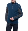 Kuhl Mens Revel 1/4 Zip Navy/ Steel