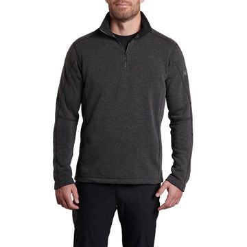 Kuhl Mens Revel 1/4 Zip Sweater Steel (Close Out)