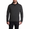 Kuhl Mens Revel 1/4 Zip Sweater Steel