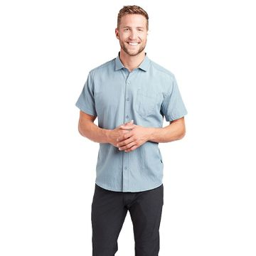 Kuhl Mens Riveara Short Sleeve Cove Blue (Close Out)