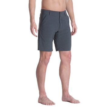 "Kuhl Mens Shift Amfib Short 10"" Inseam Carbon (Close Out)"