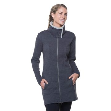 Kuhl Womens Alska Long Sweater Pavement (Close Out)