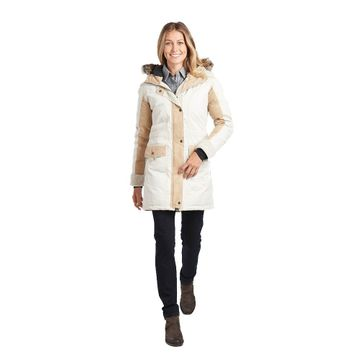 Kuhl Womens Arktik Down Parka Ivory (Close Out)