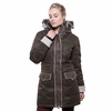 Kuhl Womens Arktik Down Parka Olive (Close Out)