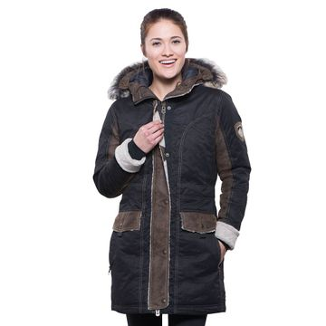 Kuhl Womens Arktik Down Parka Raven (Close Out)