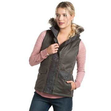 Kuhl Womens Arktik Down Vest Carbon (Close Out)