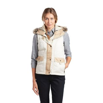 Kuhl Womens Arktik Down Vest Ivory (Close Out)