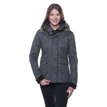 Kuhl Womens Arktik Jacket Carbon