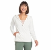 Kuhl Womens Bandita 1/2 Zip Pullover White (Close Out)