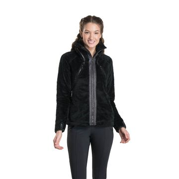 Kuhl Womens Flight Jacket Black
