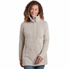 Kuhl Womens Highland Long Sweater Natural