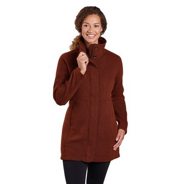 Kuhl Womens Highland Long Sweater Red Rock