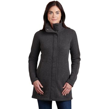 Kuhl Womens Highland Long Sweater Steel