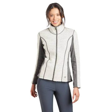Kuhl Womens Kozet Full Zip Natural