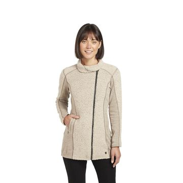 Kuhl Womens Kozet Long Sweater Oatmeal