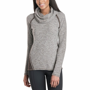 Kuhl Womens Nova Pullover Coffee (Close Out)