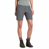 "Kuhl Womens Trekr Short 8"" Charcoal"