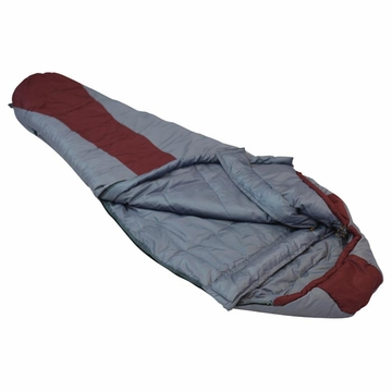 Ledge Featherlite 0 Maroon Sleeping Bag