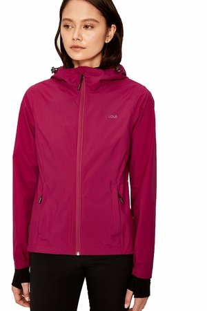 Lole Womens Lainey Jacket Cherries Jubilee