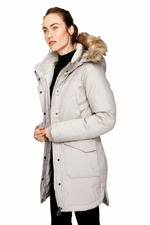 Lole Womens Malory Jacket Light Grey Heather (Close Out)