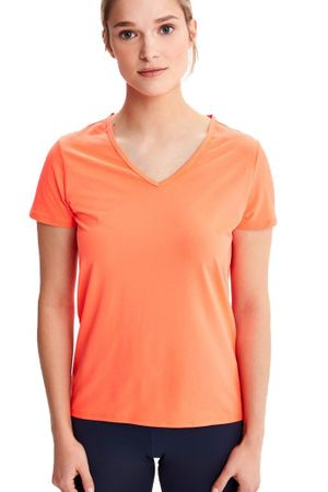 Lole Womens Repose Short Sleeve Fiery Coral