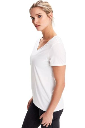 Lole Womens Repose Short Sleeve White