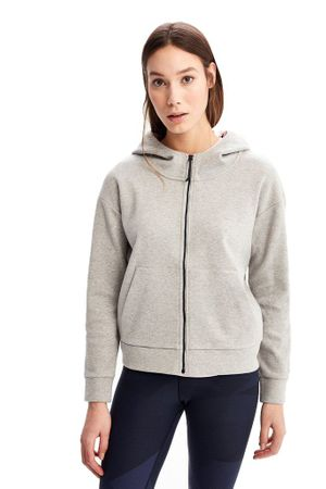 Lole Womens Unite Hoody Light Grey Heather (close out)