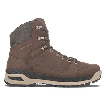 Lowa Mens Locarno Ice GTX Mid Dark Brown