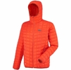 Millet Mens Dry Microloft Hoodie Bright Orange
