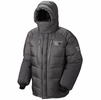 Mountain Hardwear Mens Absolute Zero Parka Shark/ Black